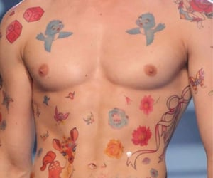 body, Tattoos, and boys image