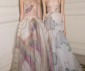 backstage, Couture, and dress image