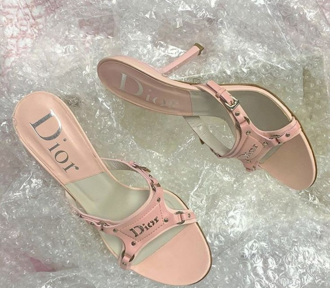 Christian Dior, dior, and pink heels image