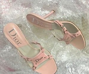pink, pink heels, and soft pink image
