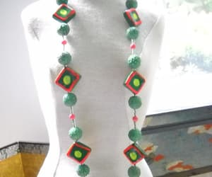 avant garde, one of a kind, and statement necklace image