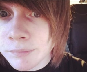 alternative, emo hair, and kyle tyre image