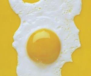 aesthetic, yellow, and eggs image