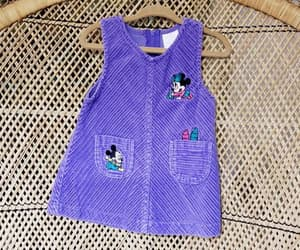 etsy, disney dress, and baby minnie mouse image