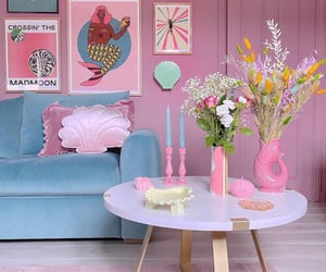 colors, decoration, and flowers image