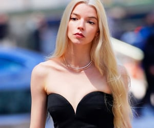 blonde, anya taylor-joy, and the queens gambit image