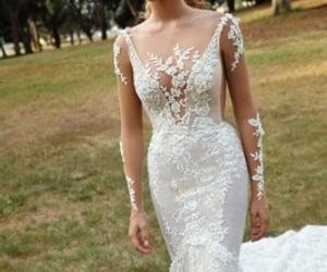 dress, wedding dresses, and hochzeit image