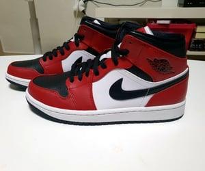 air jordan retro, basketball shoes, and jordan sneakers image