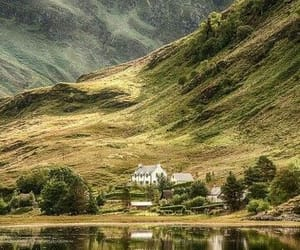 nature, mountain, and scotland image