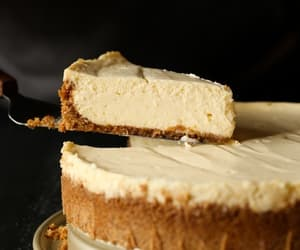 cake, sweet, and cheesecake image