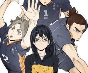 anime, anime girl, and haikyuu image
