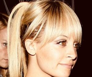 bangs, blonde, and fringe image