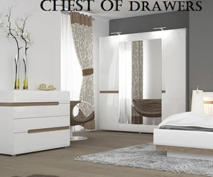 chest of drawers, black chest of drawers, and white chest of drawers image