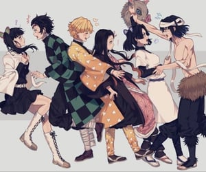 anime, kawaii, and kimetsu no yaiba image