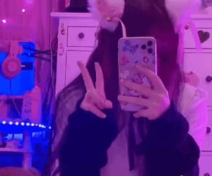cat ears, hello kitty, and soft image