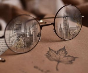 castle, hogwarts, and witch image