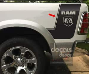 etsy, custom decals, and graphic car decal image