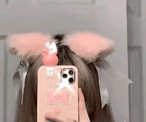 cat ears, cat girl, and soft image