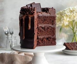 Dark Chocolate Layer Cake | In Bloom Bakery
