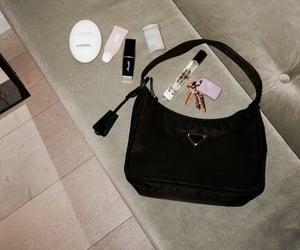 bag, beauty, and Prada image