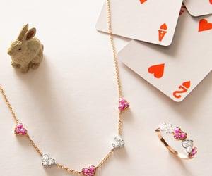 belleza, corazones, and diamante image