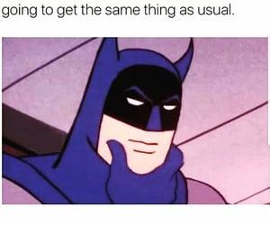 batman, food, and menu image