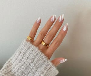 nails, rings, and beautiful image