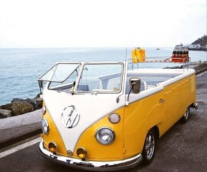 bus, travel, and vw image