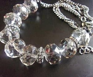 crystal necklace, etsy, and swarovski crystals image