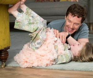 child, lovely, and benedict cumberbatch image