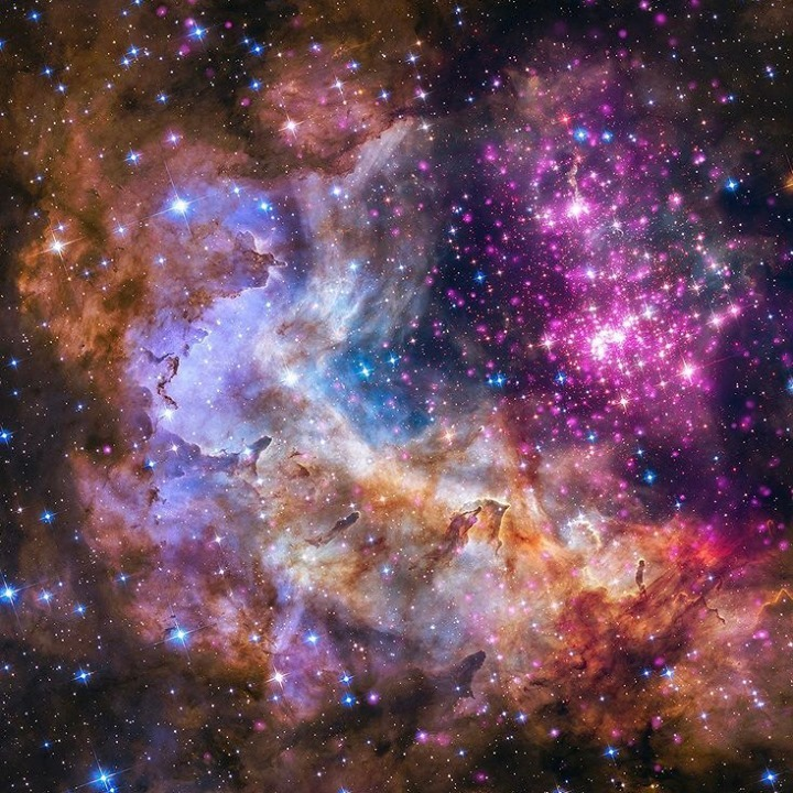 celestial, cosmic, and universe image