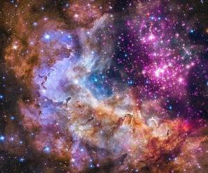 celestial, cosmic, and nebula image