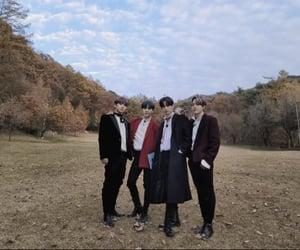 autumn, fall, and korean image