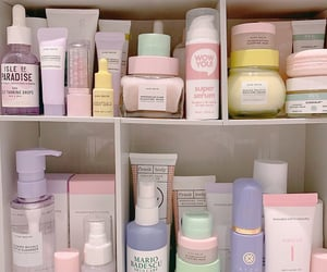 beauty, pastel, and cosmetics image