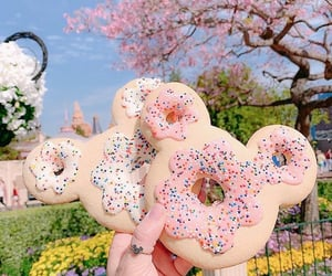 carnival, donuts, and spring image