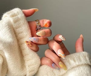 article, manicure, and nail image