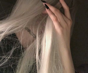 blond, girl, and blondie image