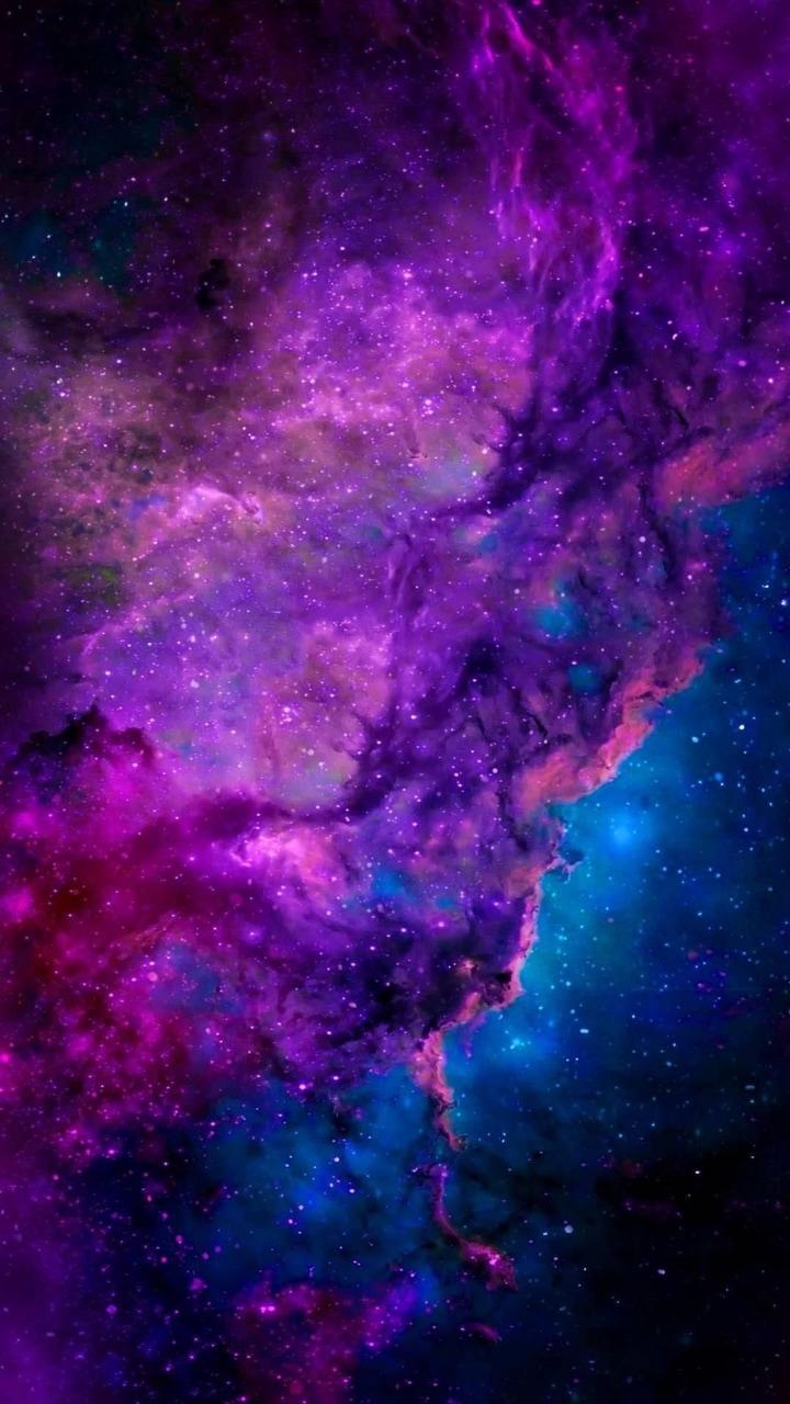 blue, galaxy, and purple image