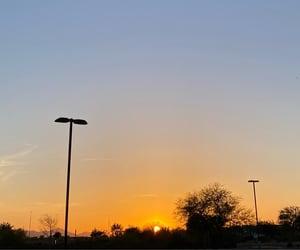 aesthetic, sundown, and sunset image