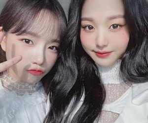 girl group, yuri, and izone image