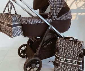 dior and stroller image