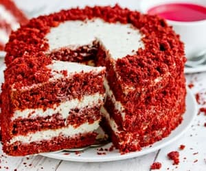 article, cake, and recipes image