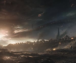 Avengers, thanos, and cap image
