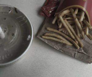 best friends, French Fries, and grunge image