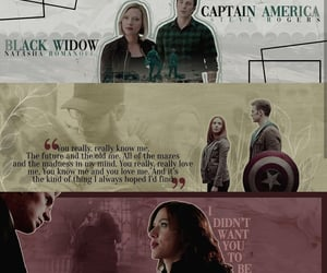 aesthetic, black widow, and captain america image