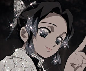 glitter, anime, and pfp image