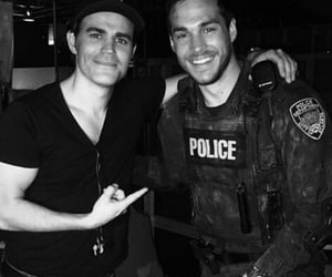 bromance, paul wesley, and tvd image