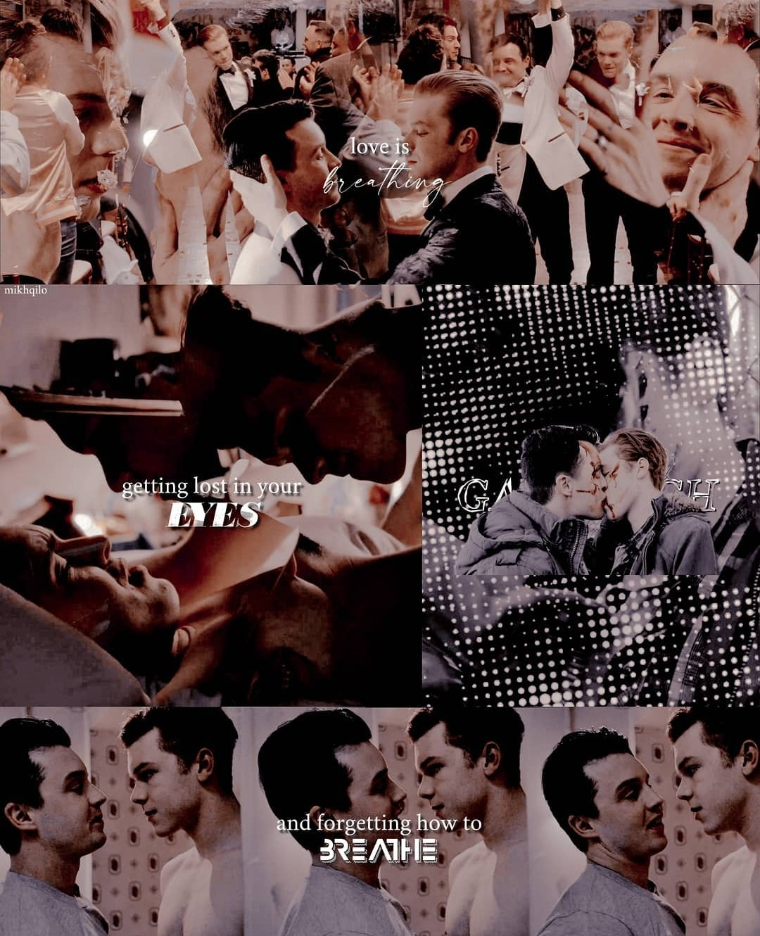 aesthetic, otp, and gallavich image
