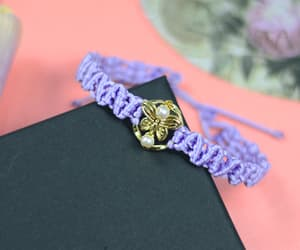 bracelet, diy, and cute image