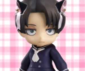 Figure, pink, and levi image